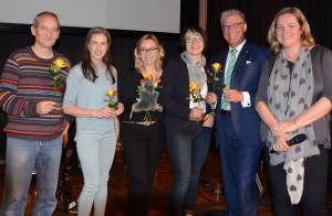 Martin Jansen, Dr. Vera geisel, Marina Müller-Klösel, Sonja Baur, Prof. Meyer-Falcke, Stephanie Lahusen